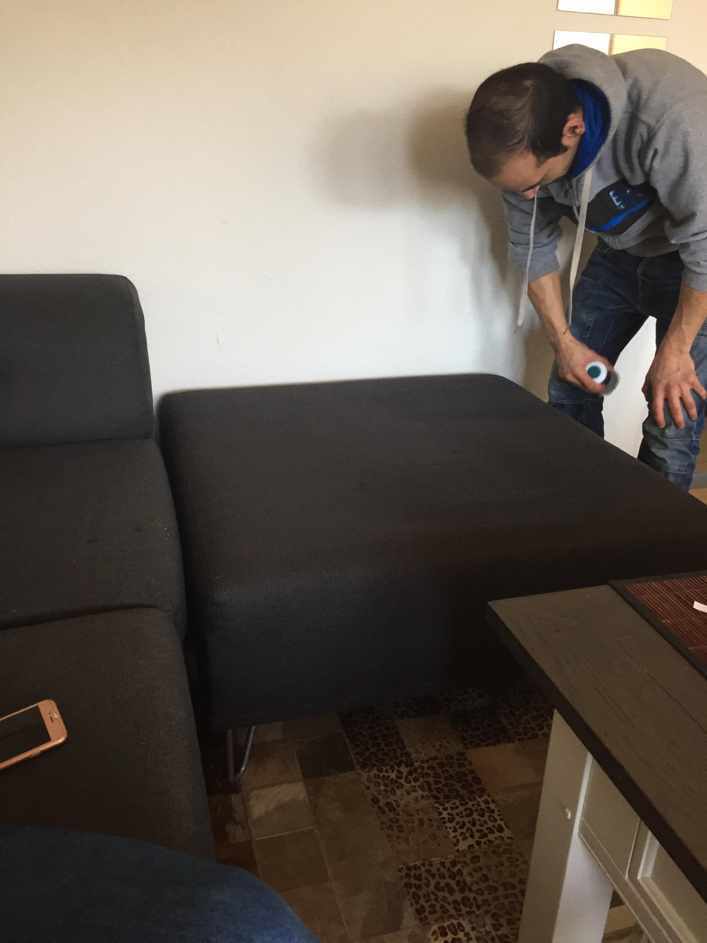 fjern røglugt fra sofa
